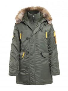 Аляска Nord Storm Husky Woman sage green