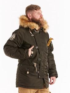Аляска Denali Husky Military rep.grey/rep.grey