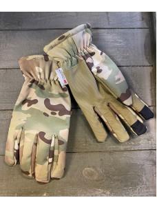 Перчатки Mil-Tec softshell THINSULATE мультикам