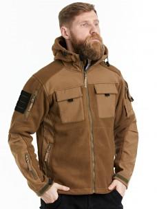Флисовая куртка 7.26 (107) песок