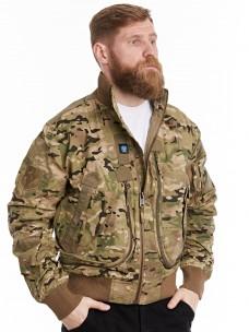 Куртка-пилот 7.26 (056) ворот/трикотаж камуфляж