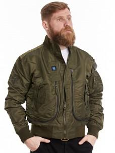 Куртка-пилот 7.26 (056) ворот/трикотаж олива