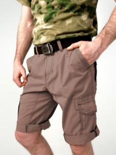 Шорты Director х/б с боковыми карманами коричневые