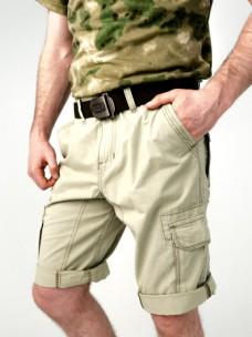 Шорты Director х/б с боковыми карманами светлая олива