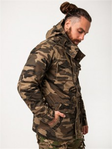 Куртка AF утепленная/синтепон камуфляж