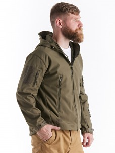 Куртка софтшелл олива