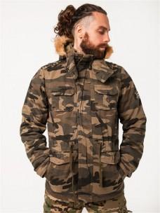 Куртка AF утепленная/мех камуфляж