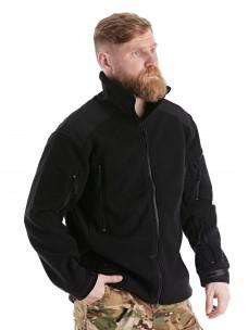 Флисовая куртка 7.26 (1393) черная