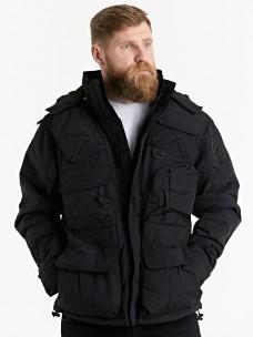 Куртка-пилот 7.26 (018) 6 карманов зима черная