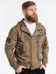 Куртка-пилот 7.26 (076) Army капюшон песок