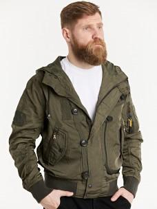 Куртка-пилот 7.26 (076) Army капюшон олива