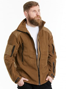 Флисовая куртка 7.26 (1393) песок