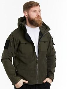 Флисовая куртка 7.26 (107) олива
