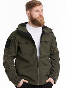 Куртка-пилот 7.26 (106) софтшелл олива