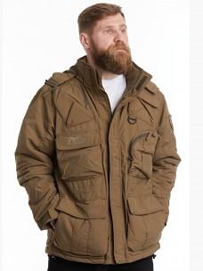Куртка-пилот 7.26 (018) 6 карманов зима песок