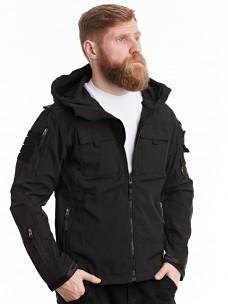 Куртка-пилот 7.26 (106) софтшелл черная