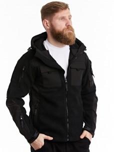 Флисовая куртка 7.26 (107) черная