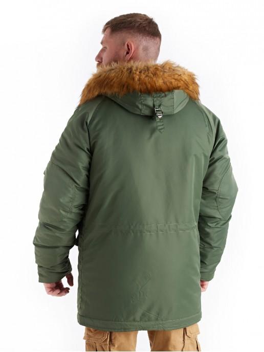 Аляска Alpha Husky олива