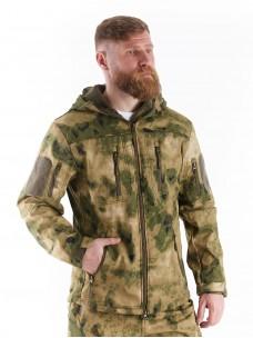 Куртка софтшелл a-tacs зеленый