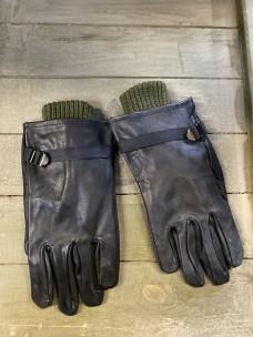 Перчатки Бельгия кожа со вставкой
