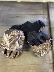 Перчатки-трансформеры на меху