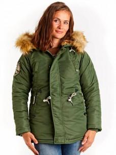 Аляска Denali Husky Woman green/green